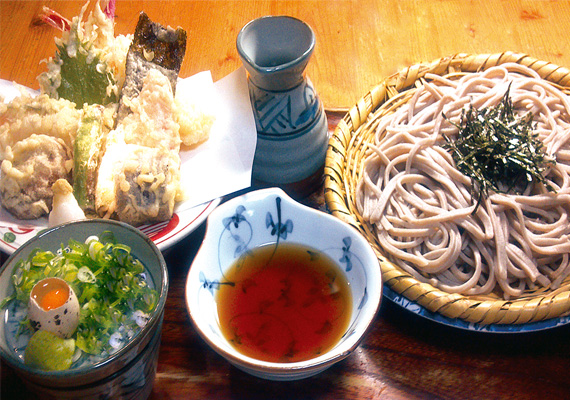 ¥1700  Buckwheat Noodle with Tempura